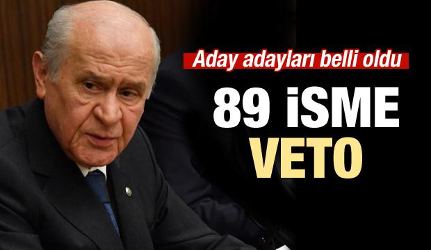 MHP'de aday adayları belli oldu!