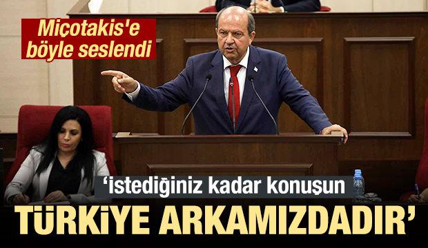 Miçotakis'e Böyle Seslendi: Türkiye Arkamızdadır