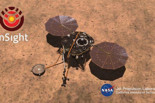 NASA'nın InSight uzay aracından yeni Mars fotoğrafları