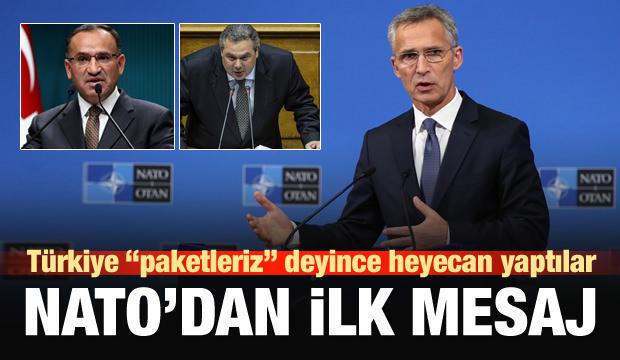 NATO'dan Türkiye ve Yunanistan mesajı