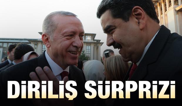 Nicolas Maduro'dan Diriliş sürprizi!