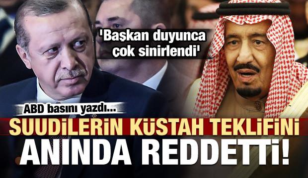 Olay iddia! Erdoğan, Suudilerin teklifini reddetti