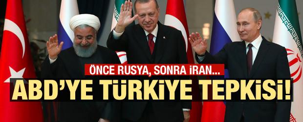 Önce Rusya, şimdi de İran! ABD'ye Türkiye tepkisi