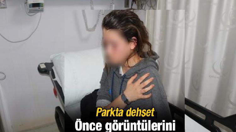 Parkta görüntüsünü çektiği 4 genç kızı yaraladı!