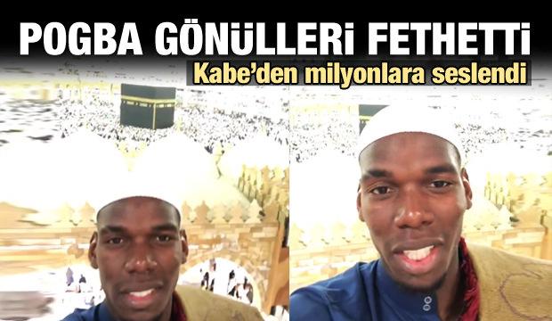 Paul Pogba Kabe'den milyonlara seslendi!