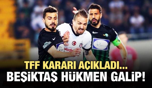 PFDK açıkladı! Beşiktaş hükmen galip