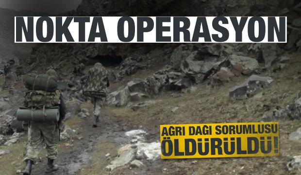 PKK'nın Ağrı Dağı sorumlusu öldürüldü