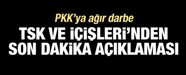 PKK'ya ağır darbe! Son bir haftada 37 terörist