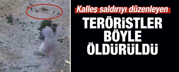 Polisi şehit eden teröristler böyle öldürüldü!