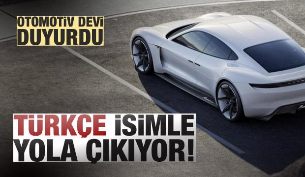 Porsche'den Yeni Harikasına Türkçe İsim