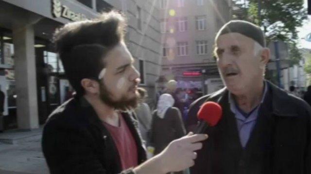 Röportaj Sırasında Canlı Bomba Saldırısı Kameralara Yansıdı