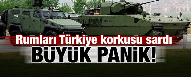 Rumlarda Türkiye paniği!