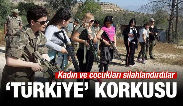 Rumların Türk korkusu! Çocukları silahlandırdılar