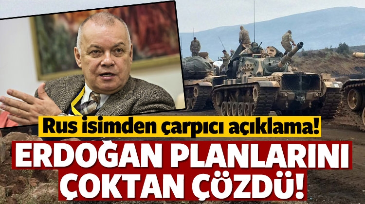 Rus Gazeteci: Erdoğan Planlarını Çoktan Çözdü!