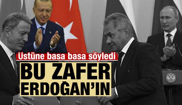 Rus isim çekinmeden söyledi: Bu Erdoğan'ın zaferi