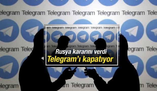 Rusya mesajlaşma uygulaması Telegram'ı kapatıyor