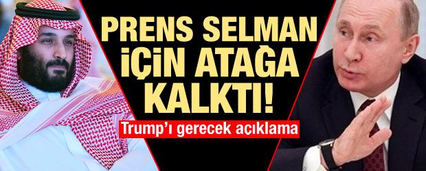 Rusya'dan çok kritik Prens bin Selman açıklaması!