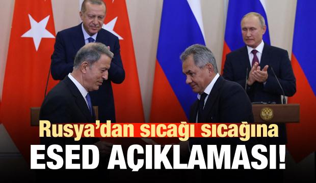Rusya'dan sıcağı sıcağına Esed açıklaması!
