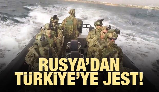 Rusya'dan Türkiye'ye jest!