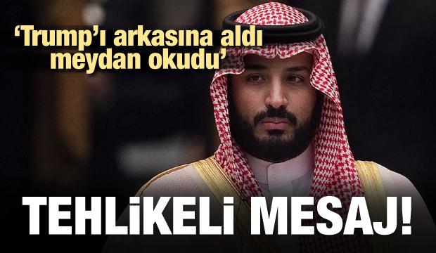 S.Arabistan meydan okudu! Tehlikeli mesaj