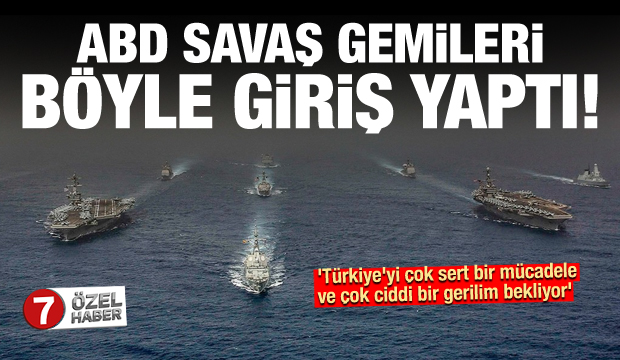 Savaş gemileri böyle geldi: Türkiye'yi çok sert bir mücadele bekliyor