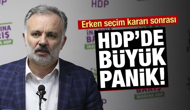 Seçim kararı sonrası HDP'de büyük panik!