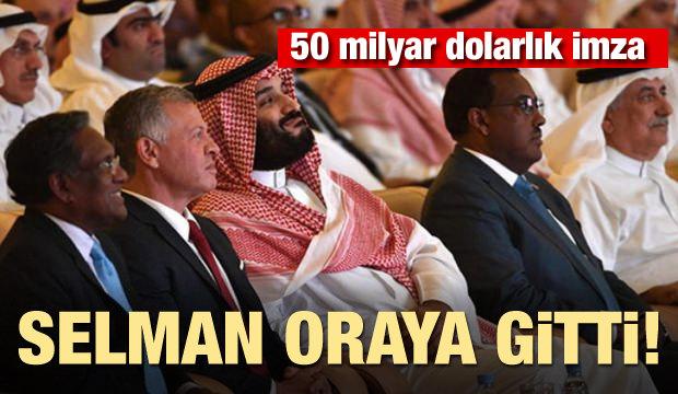 Selman oraya gitti! 50 milyar dolarlık imza