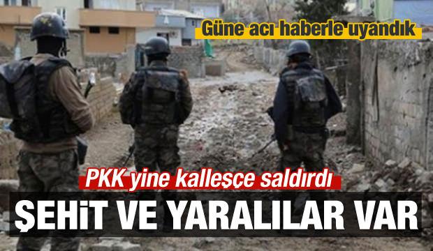 Şırnak'ta hain saldırı: 3 asker şehit!