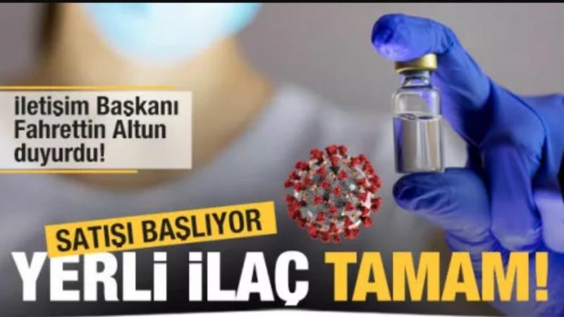 Son Dakika: Fahrettin Altun duyurdu! Yerli ilaç onaylandı, satışı başlıyor
