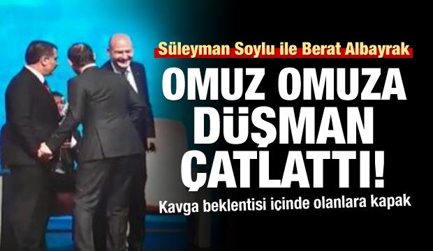 Süleyman Soylu ile Berat Albayrak düşman çatlattı