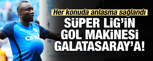Süper Lig'in gol makinesi Galatasaray'a!