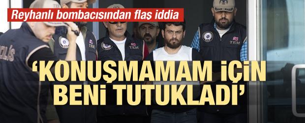 'Suriye istihbaratı konuşmam için beni tutukladı'