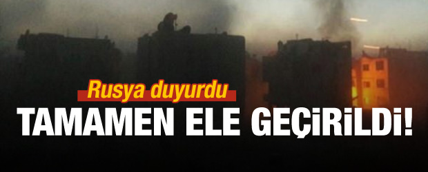 Suriye ordusu Doğu Guta'yı tamamen ele geçirdi