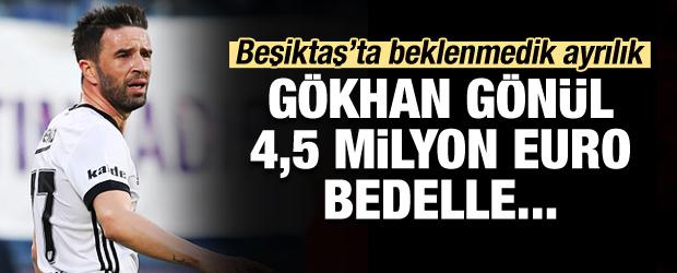 Sürpriz ayrılık! Gökhan Gönül 4,5 milyon euroya...