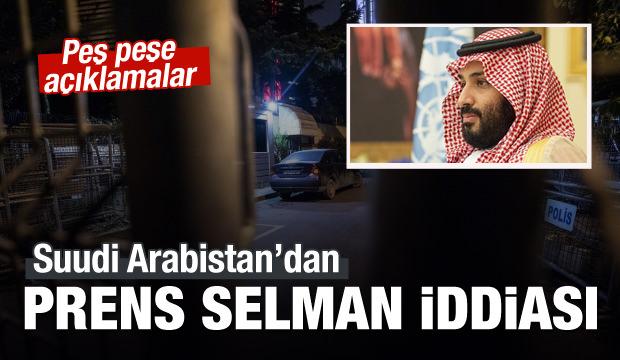 Suudi Arabistan'dan Prens Selman iddiası