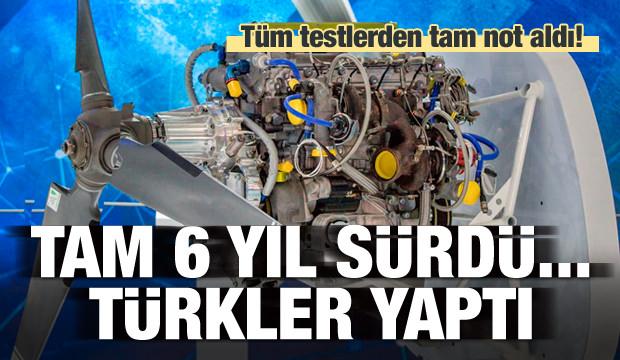Tam 6 yıl sürdü! Türkler yaptı