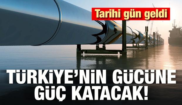 Tarihi gün geldi! Türkiye'nin gücüne güç katacak