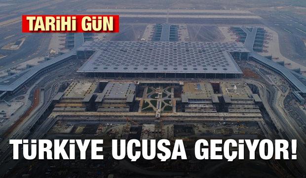 Tarihi gün! Türkiye uçuşa geçiyor