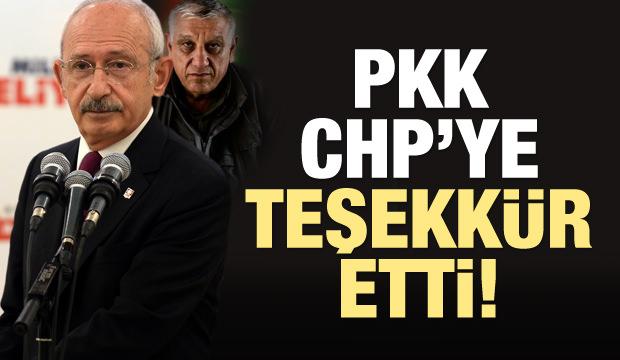 Terör örgütü PKK'dan CHP'ye teşekkür