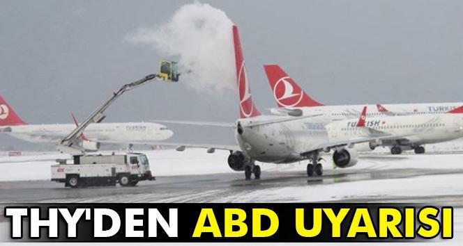 THY'den ABD'ye Uçacak Yolculara Uyarı!