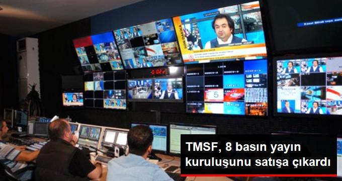 TMSF, 8 Basın Yayın Kuruluşunu Satışa Çıkardı
