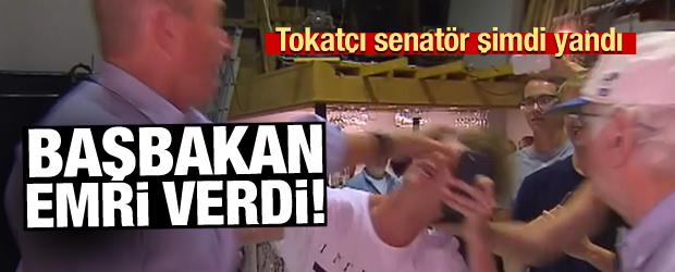 Tokatçı senatör şimdi yandı! Başbakan emri verdi