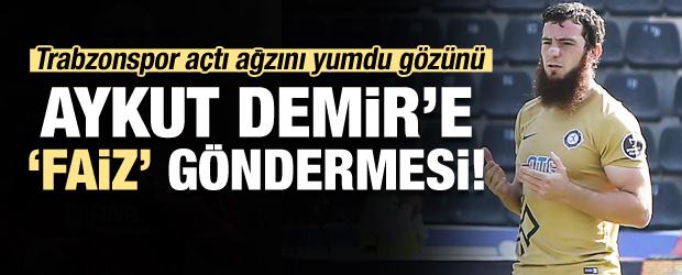 Trabzonspor'dan Aykut Demir'e 'faiz' göndermesi
