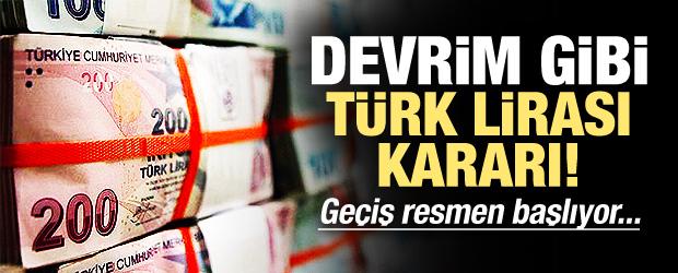 Trabzonspor'dan tarihi 'Türk Lirası' kararı!