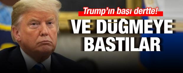 Trump'ın başı dertte! Soruşturma başlatıldı