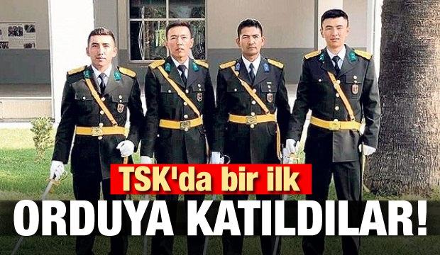 TSK'da bir ilk! Orduya katıldılar