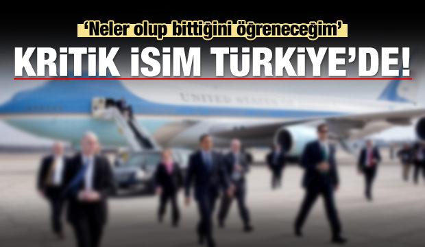 Tüm dünya kilitlendi! Uçağı iniş yaptı, kritik isim Türkiye'de