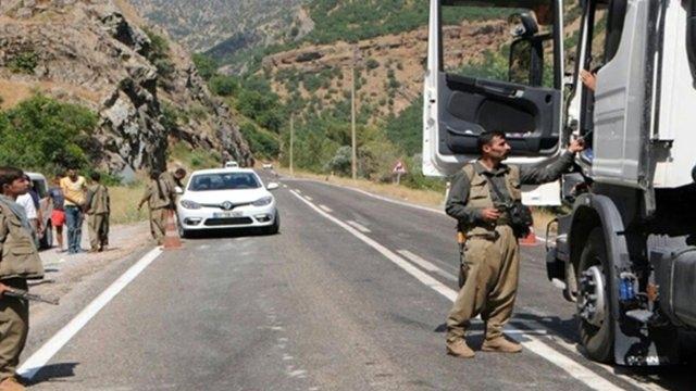 Tunceli - Erzincan Yolunda Tehlikeli Olay! Vur Emri Verildi