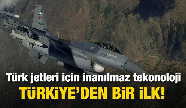 Türk jetleri için müthiş teknoloji! HAVELSAN yaptı