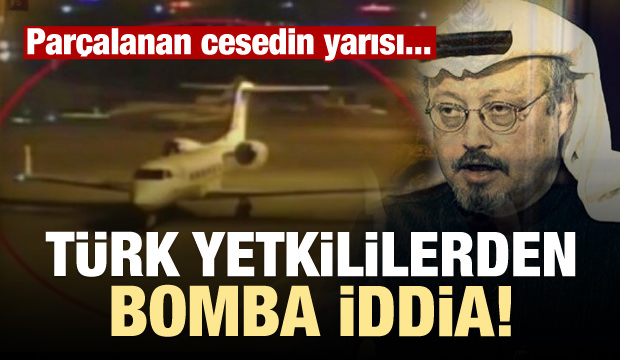 Türk yetkililerden bomba iddia! Cesedin yarısı...